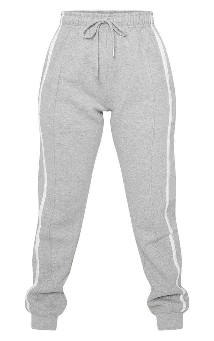 Petite Grey Double Side Stripe Jogger 3