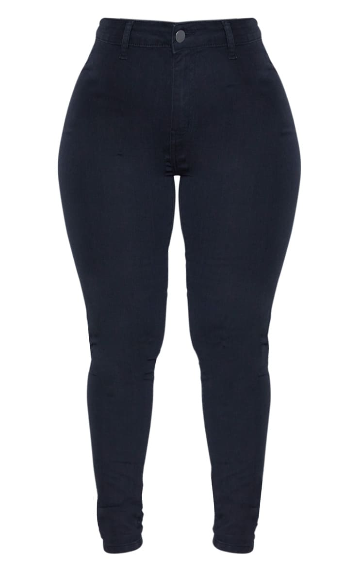 Shape Black Disco Skinny Jeans 3