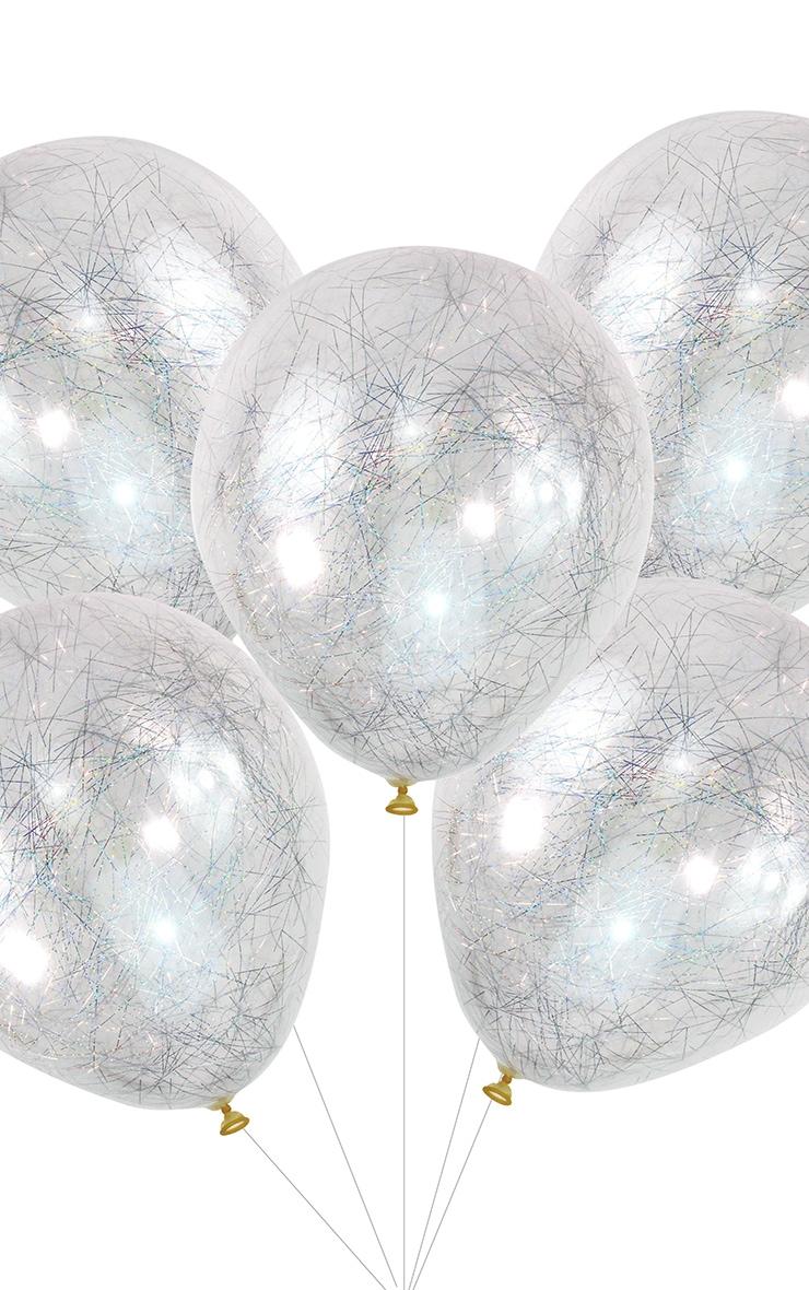 Ginger Ray Silver Angel Hair Balloons 2
