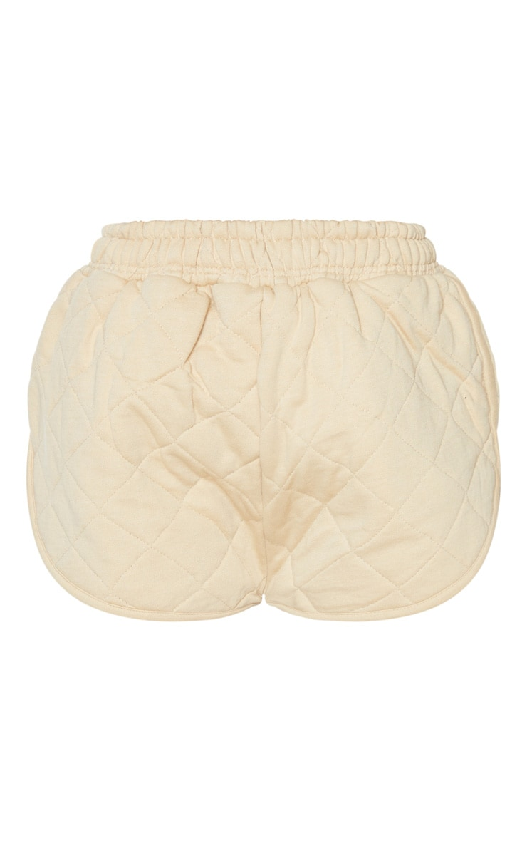 Stone Quilted Runner Short 3