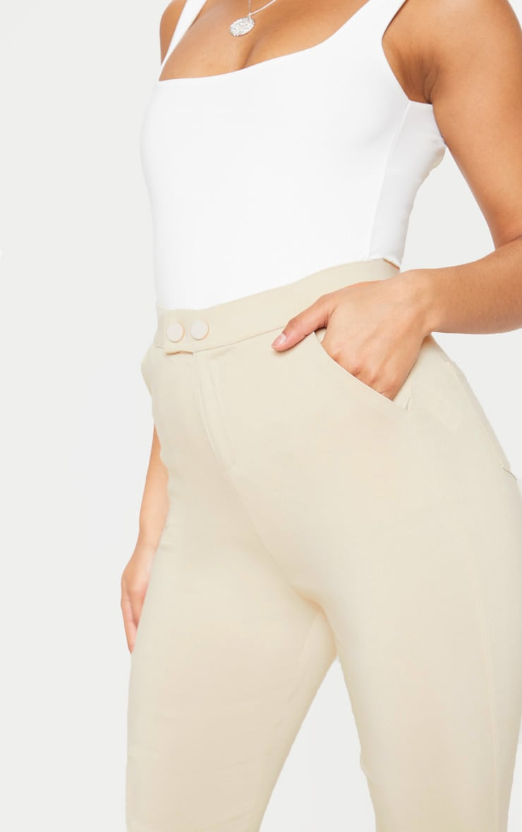 Simi Cream High Waisted Jeggings 6