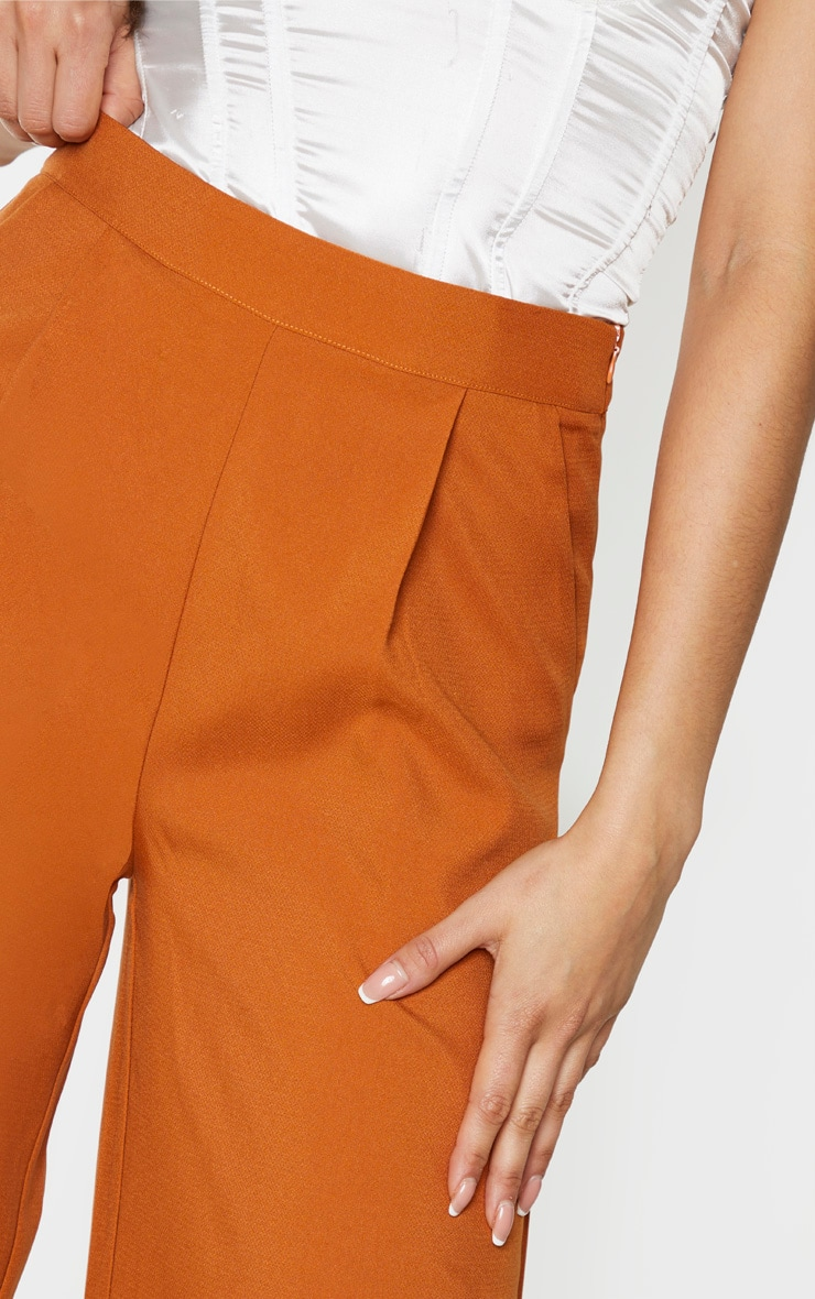 Tall Rust Extreme Wide Leg Trouser 4