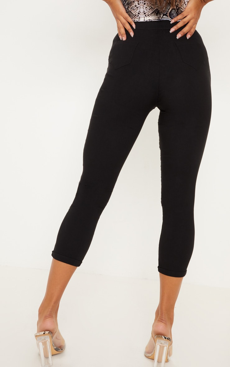 Simi Black High Waisted Jeggings 4