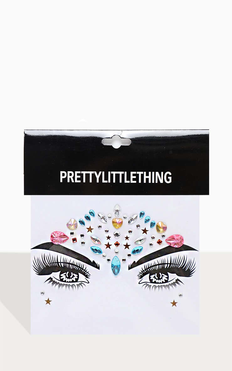 PRETTYLITTLETHING Mystic Dreamer Face Jewel 2