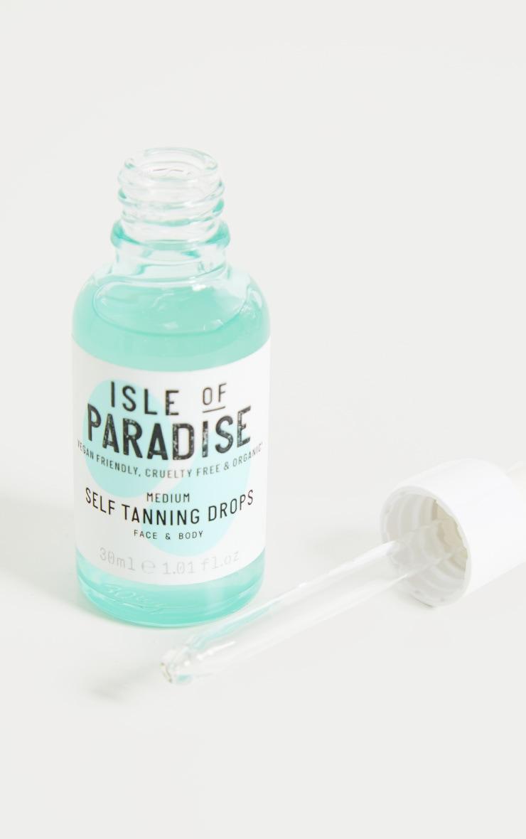 Isle of Paradise - Autobronzant en gouttes - ton moyen 2