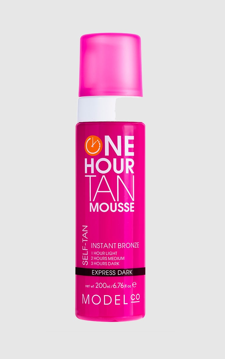 ModelCo One Hour Tan Express Dark Tan Mousse 1