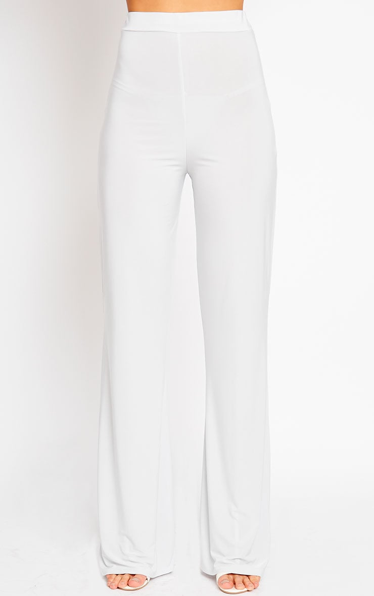 Remi Grey Soft Touch Wide Leg Trousers 2