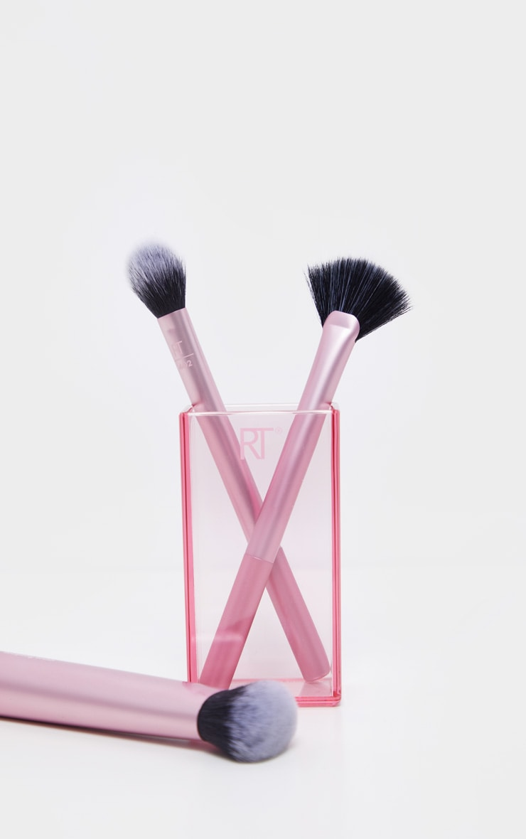 Real Techniques Make Up Brush Sculpting Set With Brush Storage 1