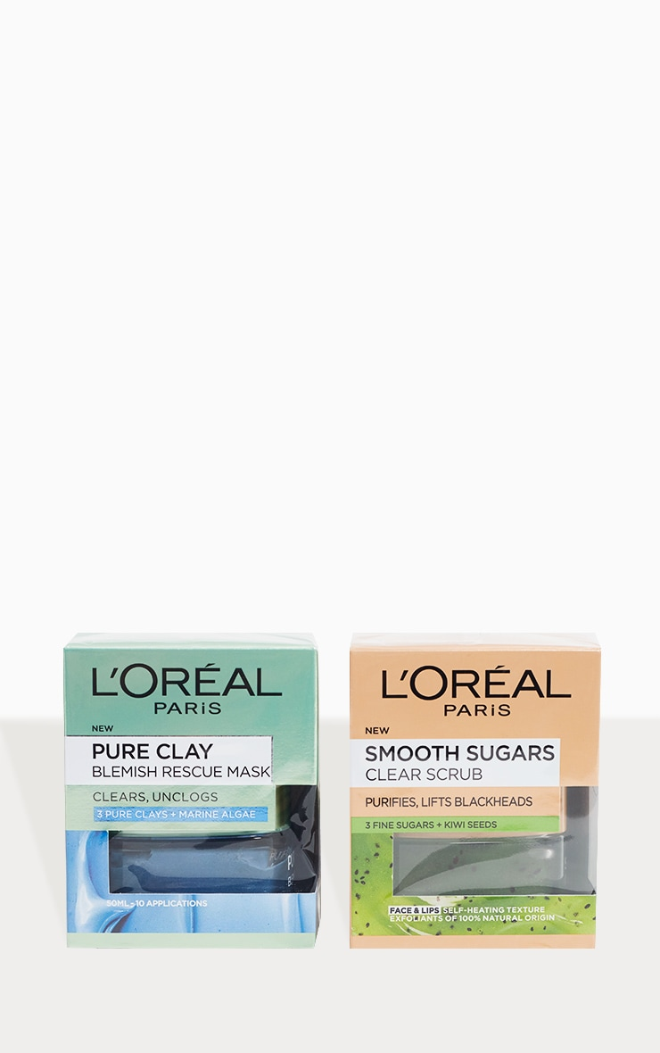 L'Oreal Paris Blackhead Rescue Skincare Kit 2