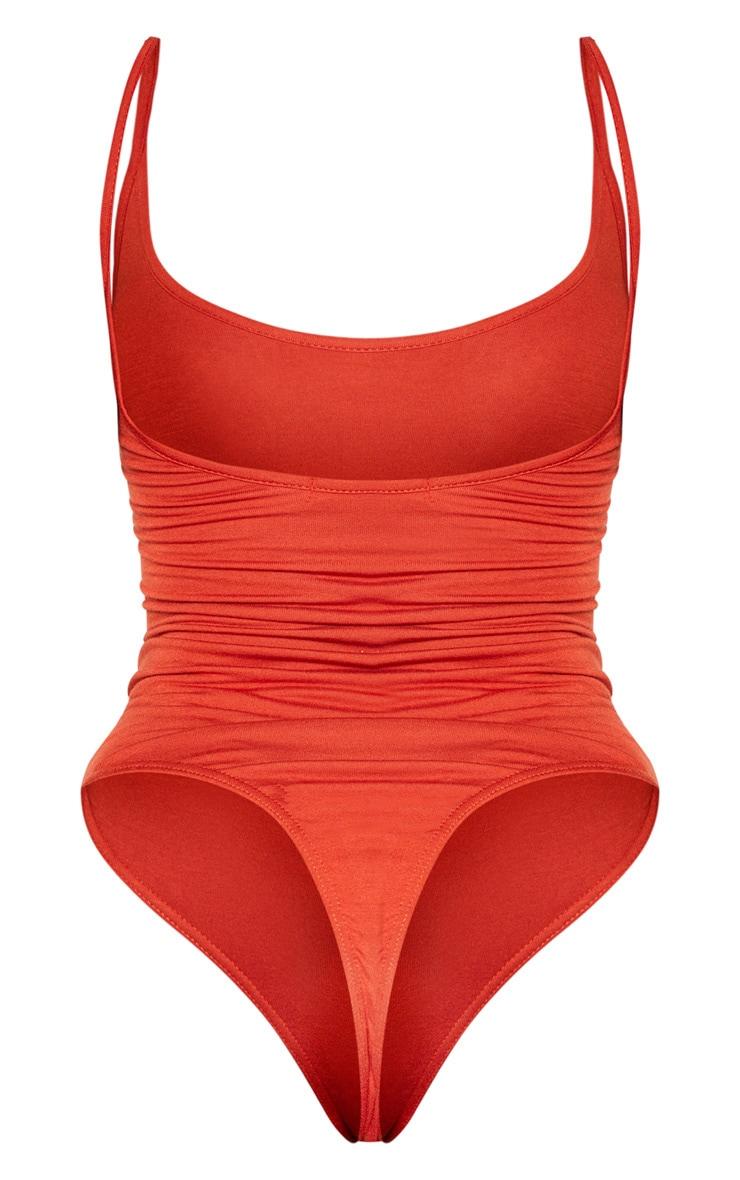 Shape Rust Jersey Strappy Bodysuit 4