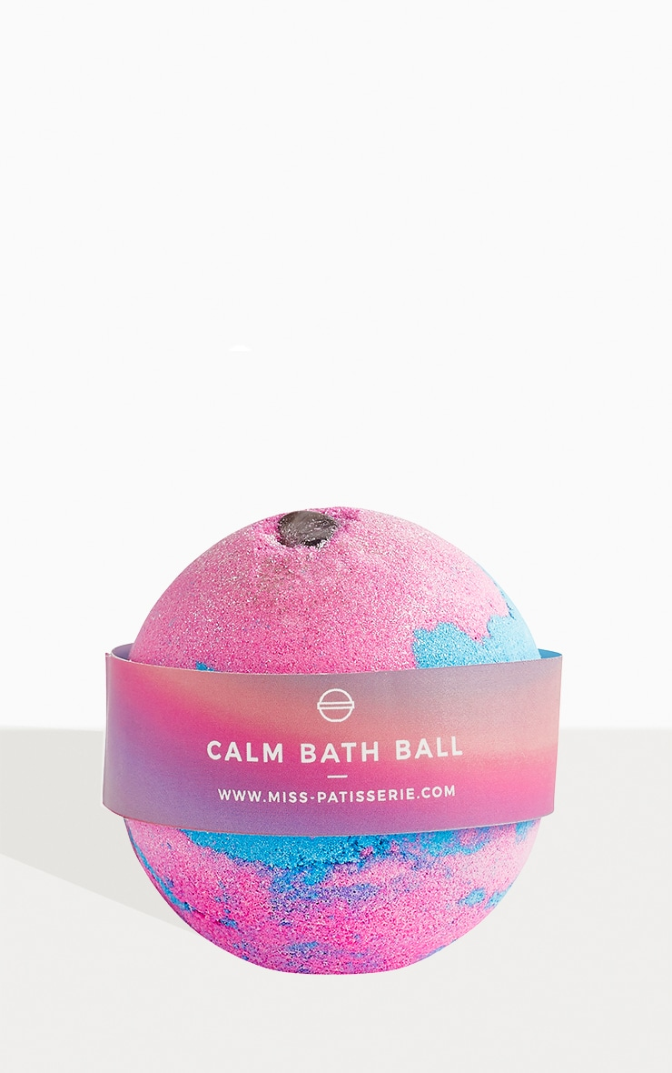 Miss Patisserie Calm Amethyst & Lavender Bath Ball 1