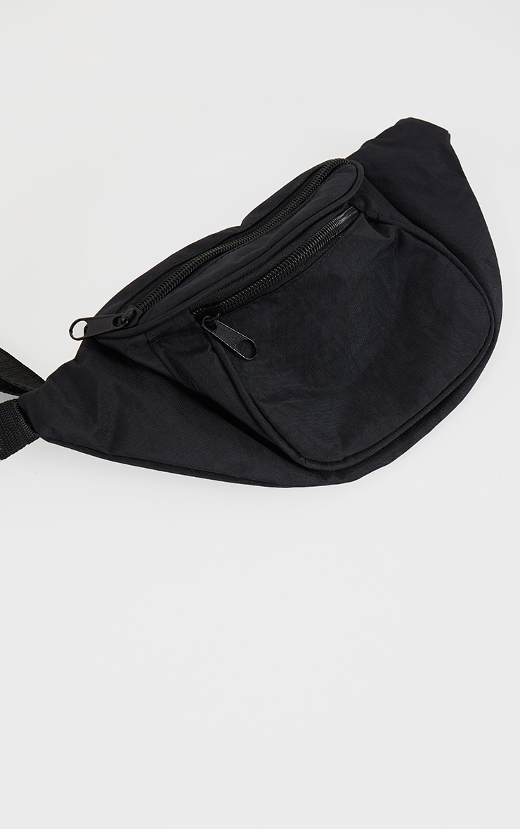 Black Small Fanny Pack 2