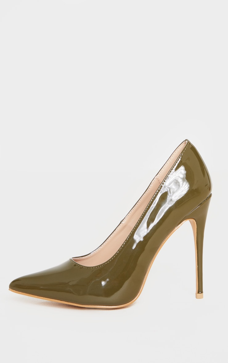 Khaki Court Shoe 4