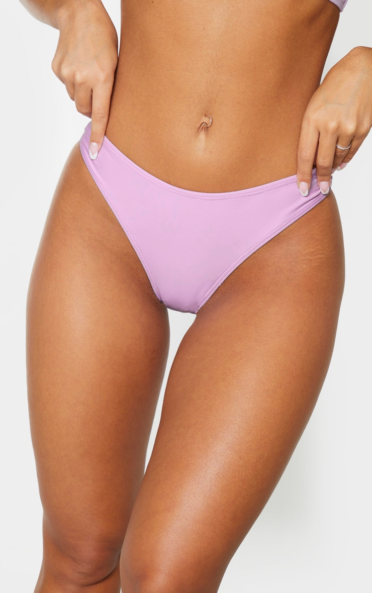 Lilac Mini Front Bikini Bottom 5