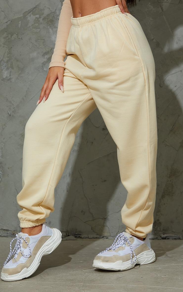 Cream Sweat Pant Joggers 2