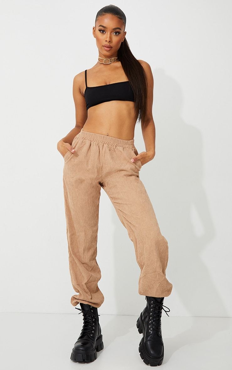 Sand Cord Joggers 1