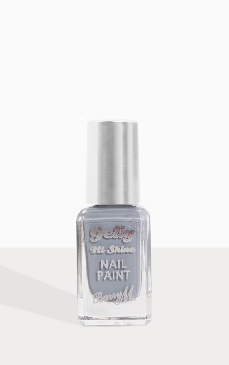Barry M Gelly Hi Shine Nail Paint Chai 2