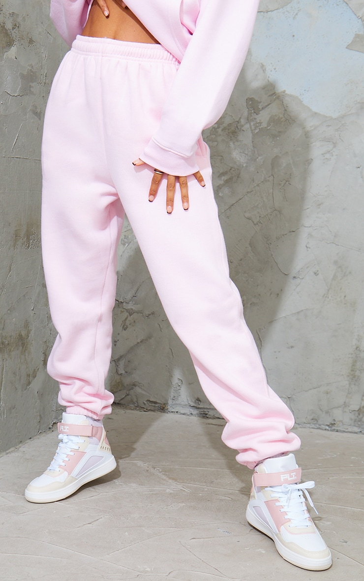 Baby Pink Casual Track Pants 2