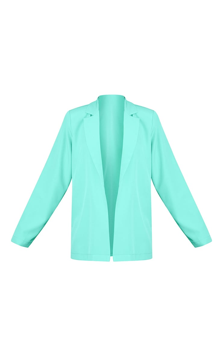 Teal Oversized Blazer 5