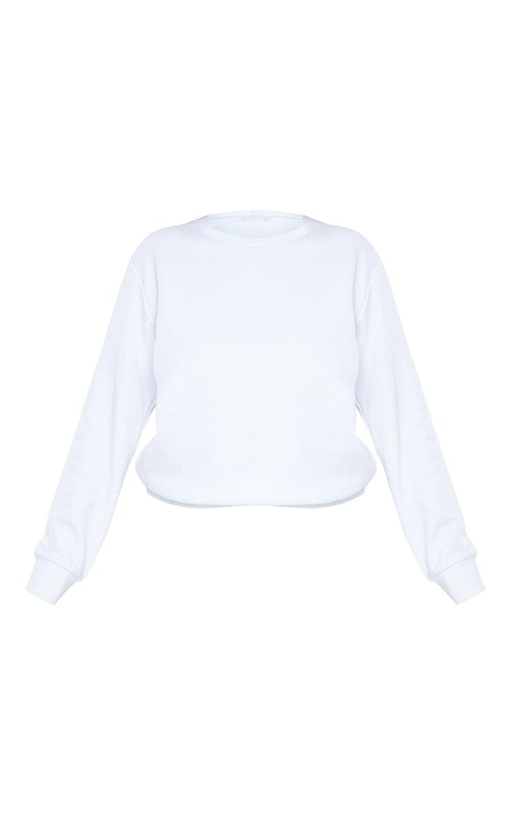 Plus Basic White Sweater 5
