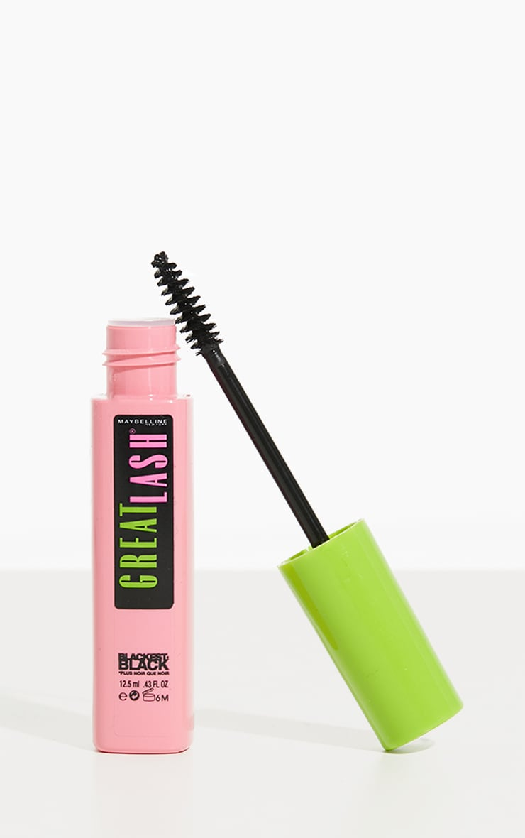 Maybelline Mascara Great Lash Blackest Black 1