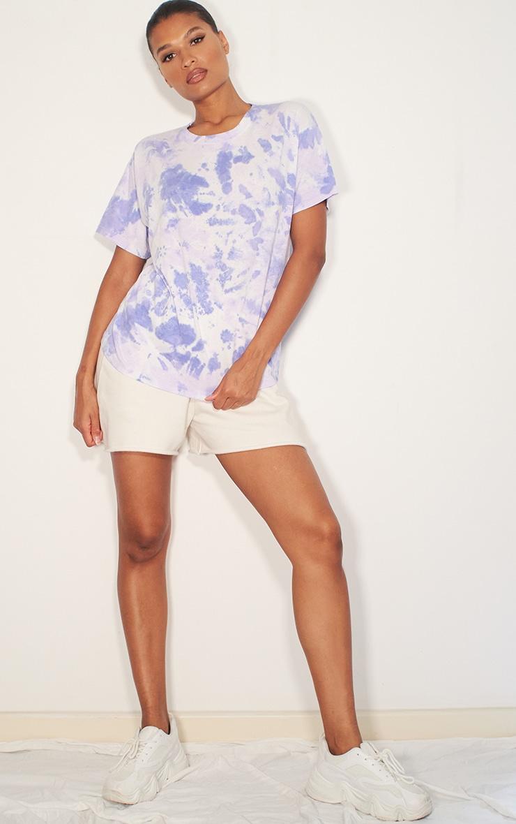 Lilac Tie Dye T Shirt 3