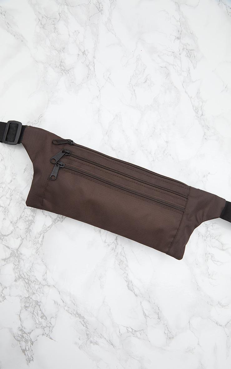 Mocha Flat Bum Bag 6