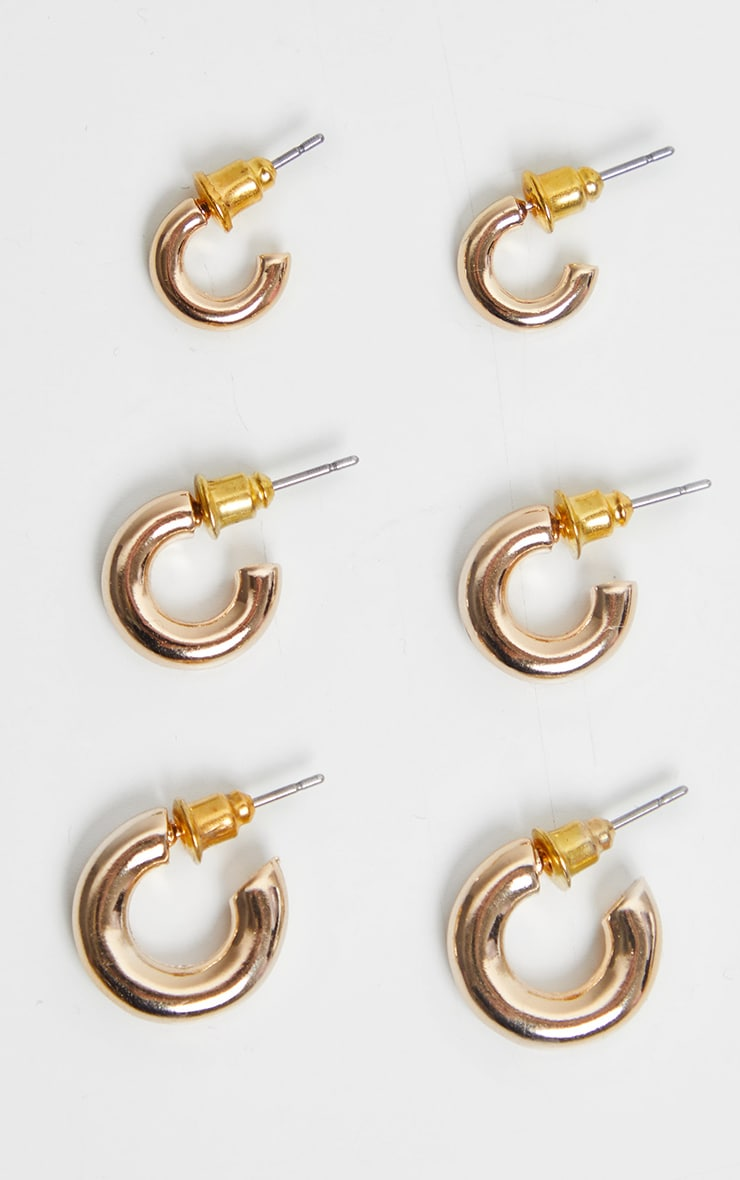 Gold Super Mini Hoop Pack 1