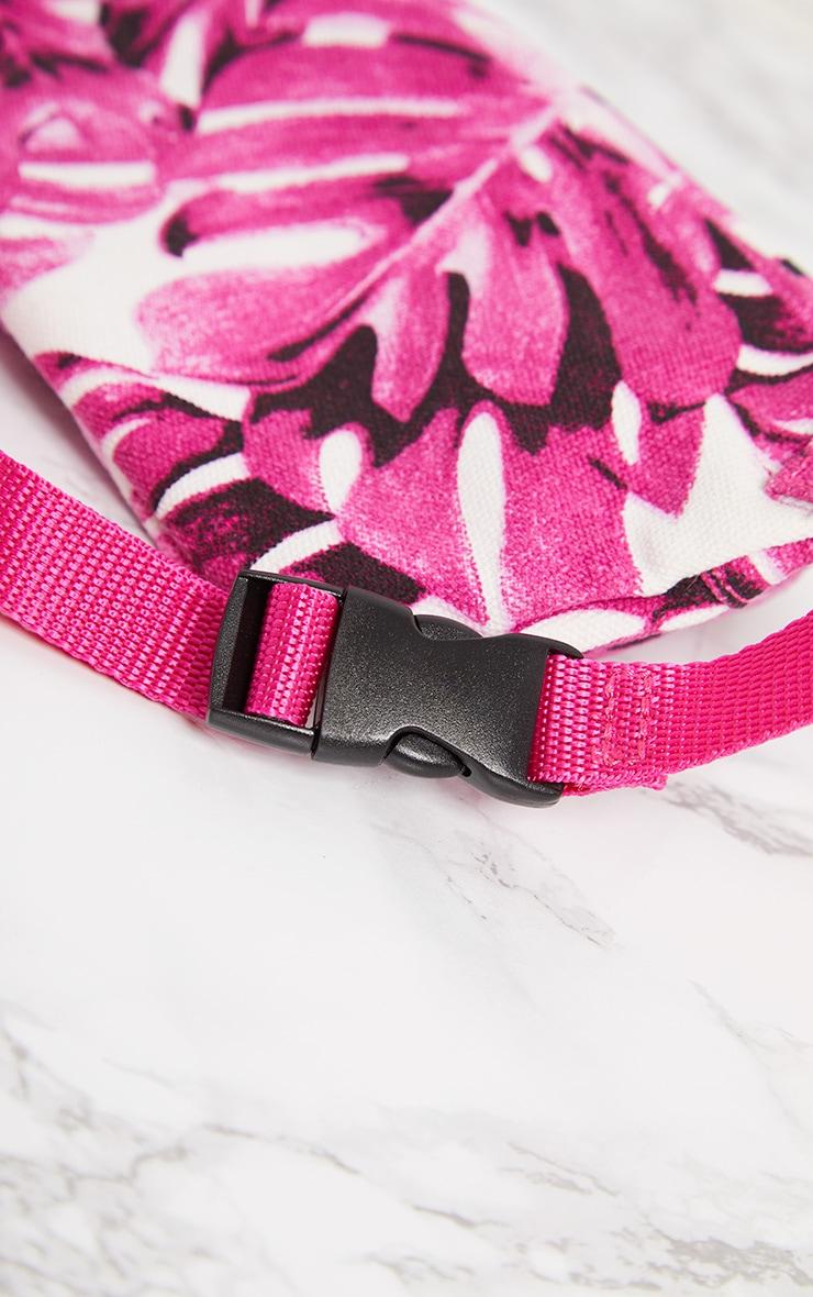 Pink Flower Bum Bag 7