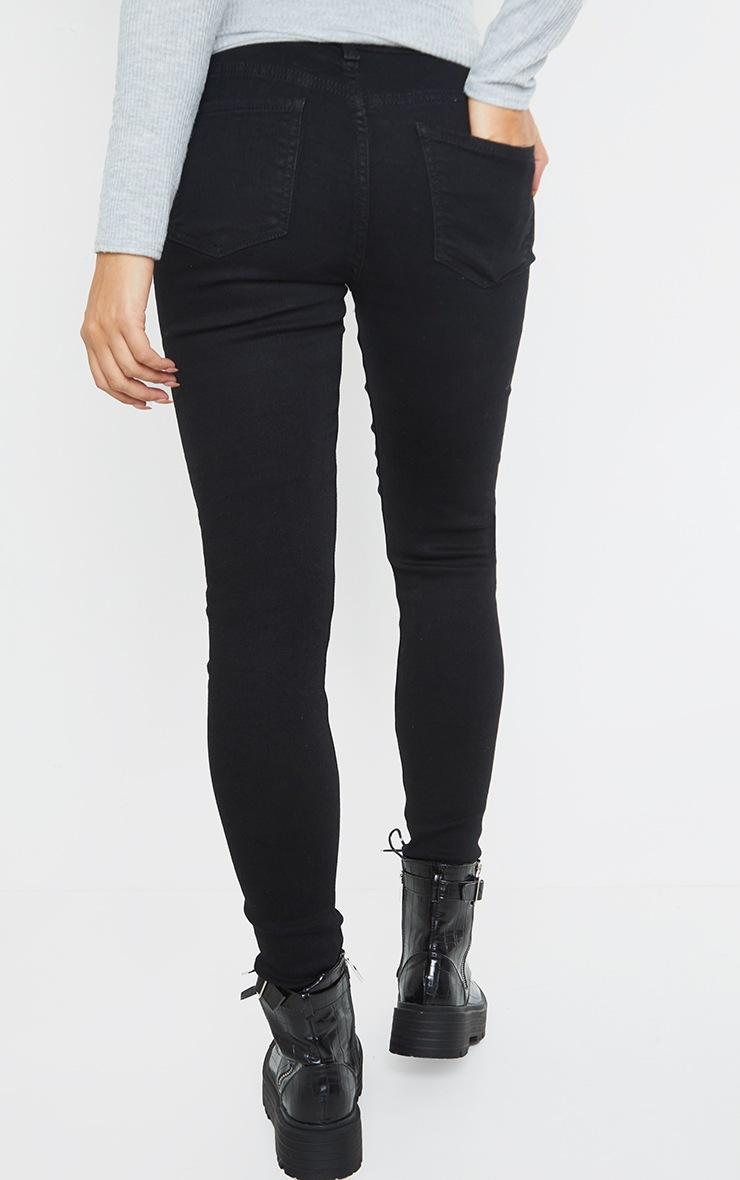 Maternity True Black Skinny Jeans 3