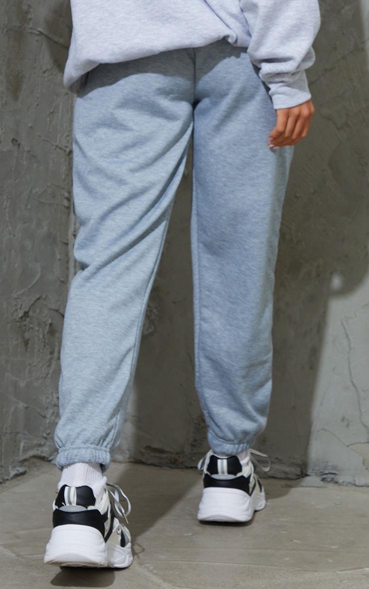 Petite Basic Grey Cuffed Hem Jogger 3