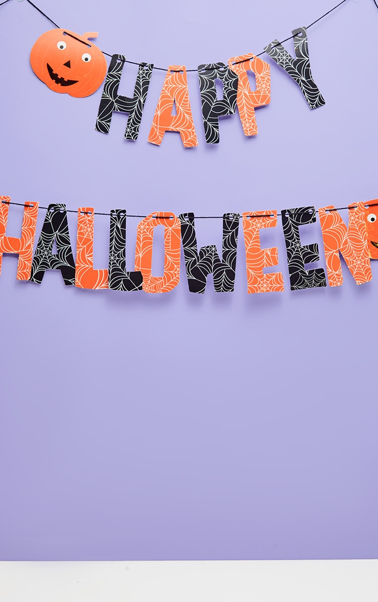 Sass And Belle Happy Halloween Paper Bunting Decoration