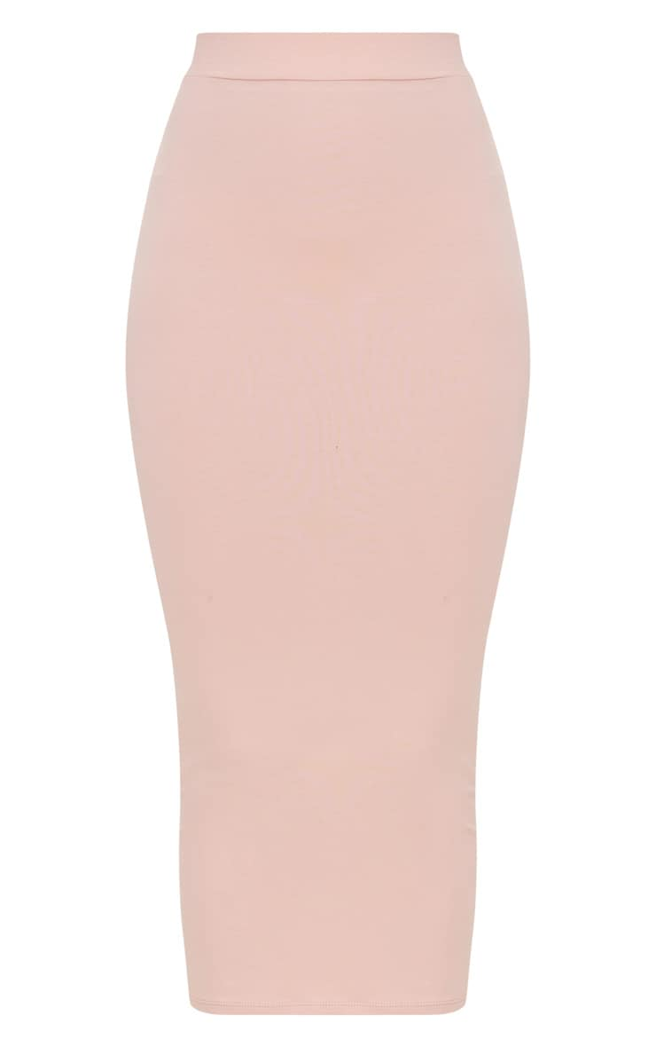 Rose Second Skin Bodycon Midaxi Skirt 3