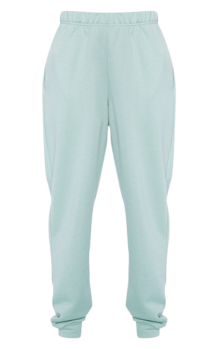 Light Mint Casual Joggers 3