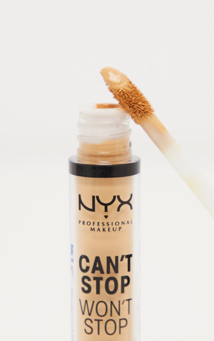 NYX Professional Makeup Can't Stop Won't Stop Contour Concealer Beige 2