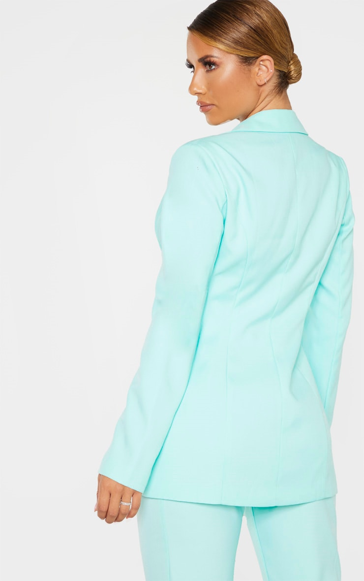 Aqua Structured Suit Woven Blazer 2