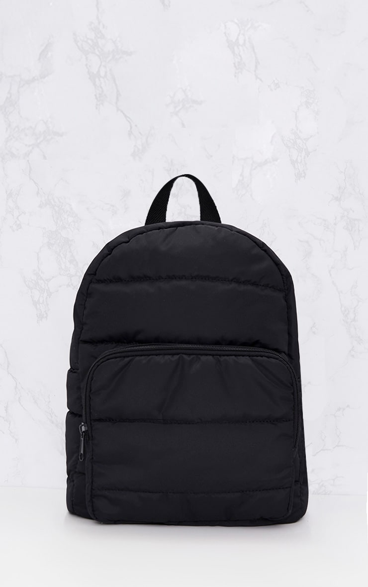 PRETTYLITTLETHING Black Backpack 2