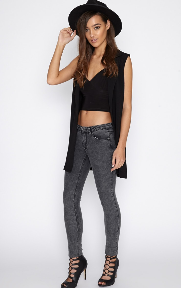 Ivy Charcoal Skinny Jean  1