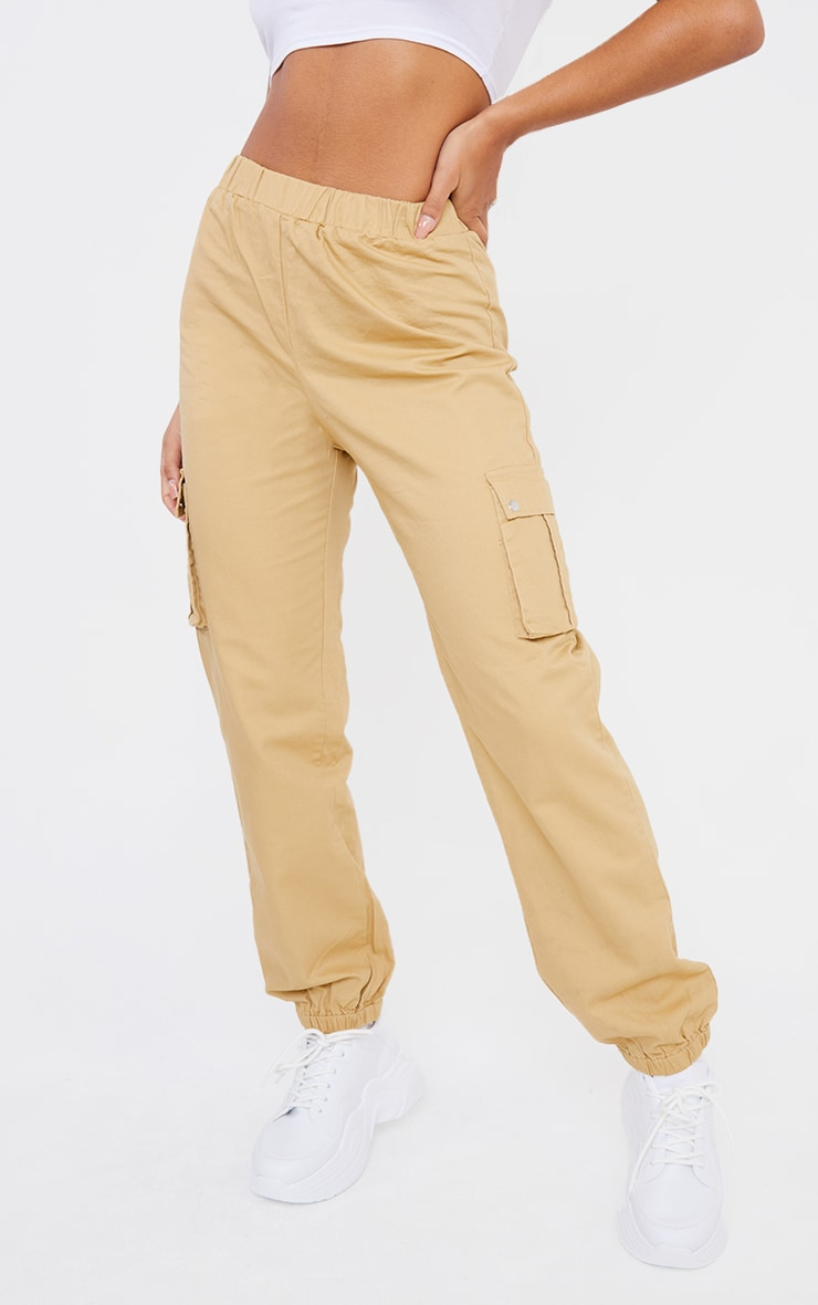 Stone Pocket Detail Cargo Trousers 2