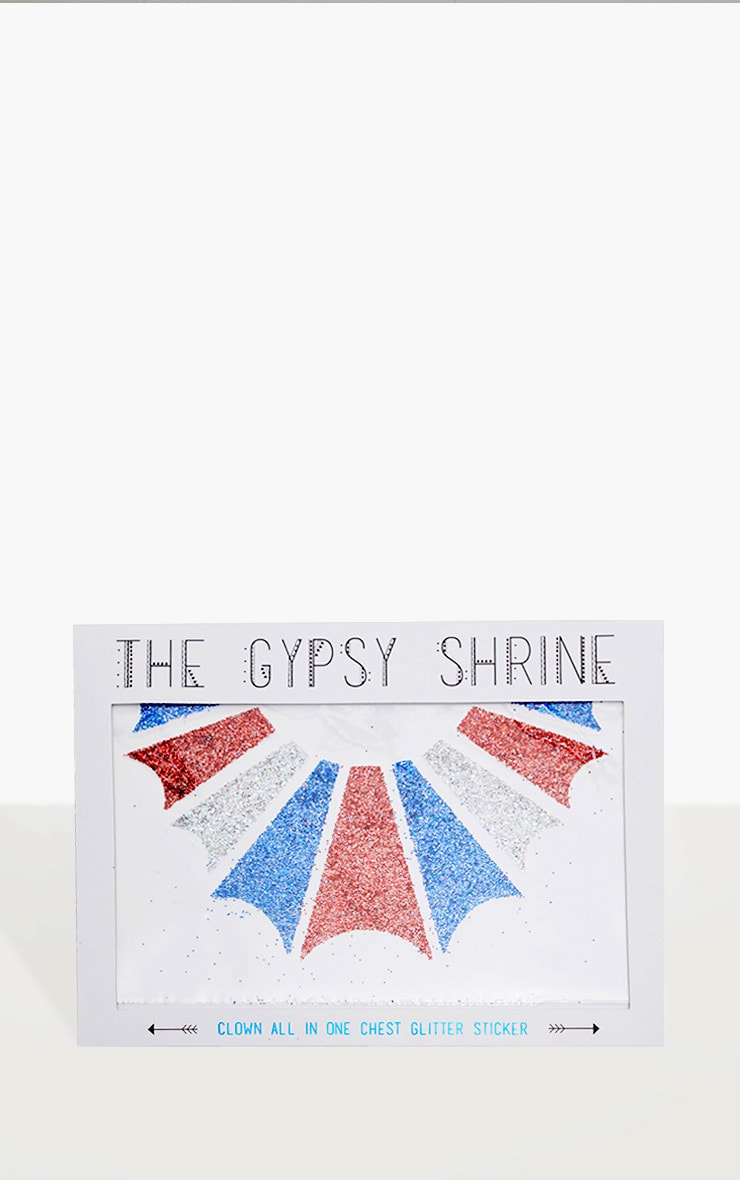 The Gypsy Shrine Body Clown Sticker