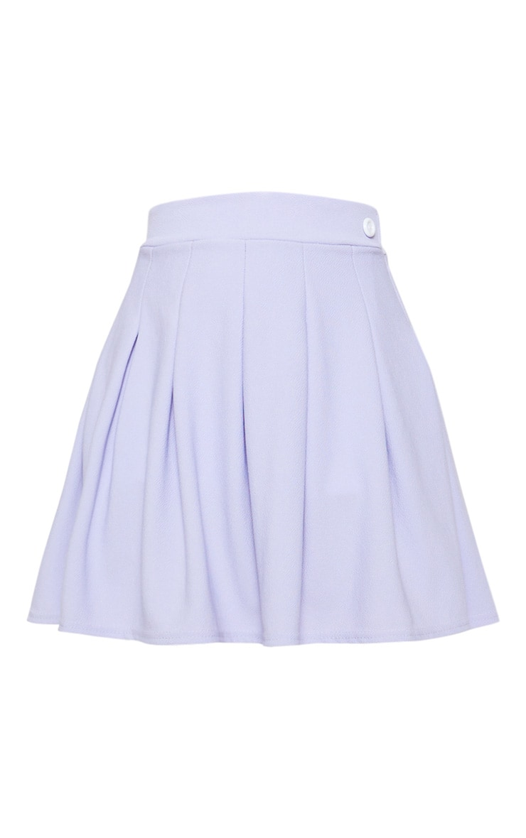 Lilac Pleated Tennis Skirt 3