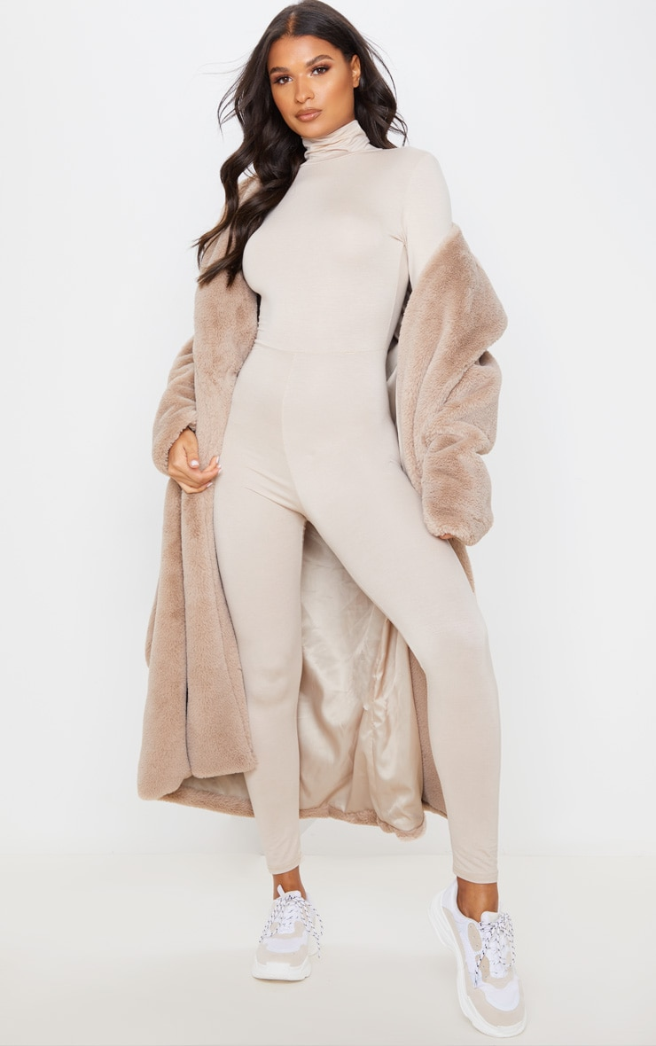 Stone Roll Neck Long Sleeve Jumpsuit 5