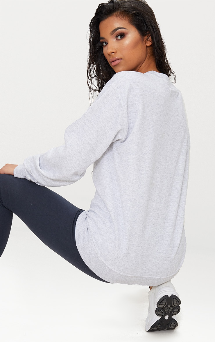 Light Grey Ultimate Oversized Sweater 2