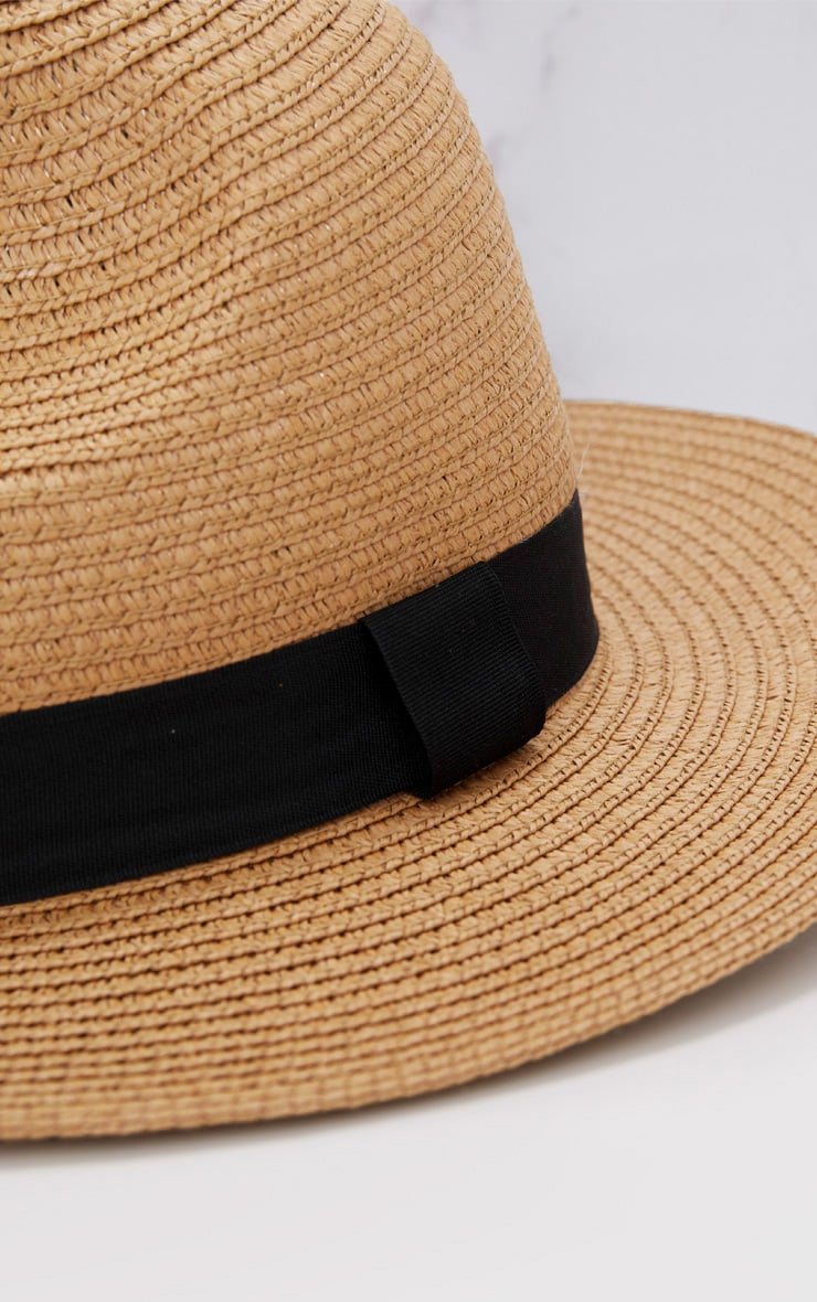 Straw Trilby Hat 5