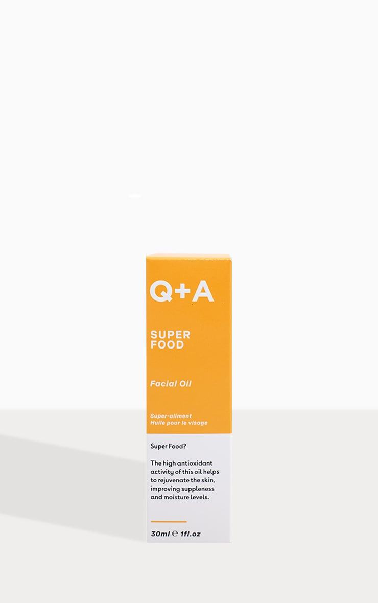 Q+A Super Food Facial Oil 30ml 2