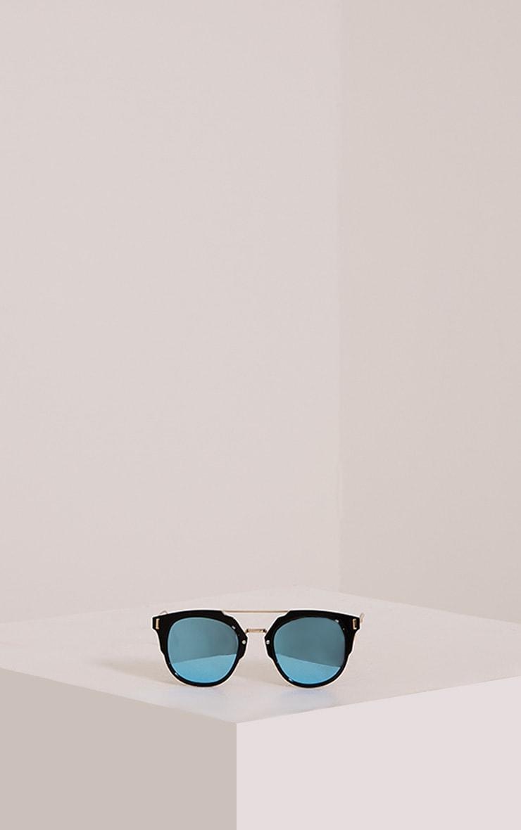 Sharah Black Two Tone Sunglasses 3