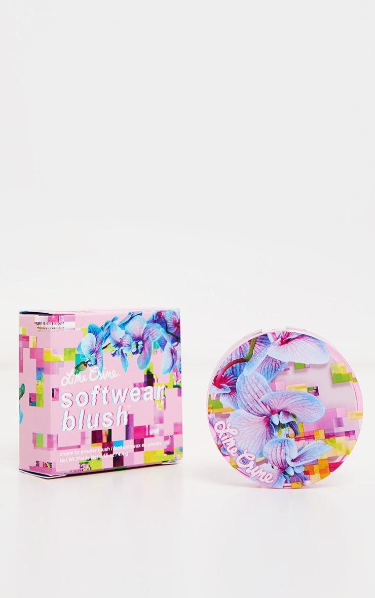Lime Crime Hyperlink Soft Matte Softwear Blush Warm Pink  3