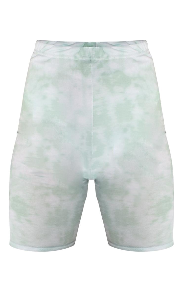 Sage Tie Dye Cycle Shorts 6