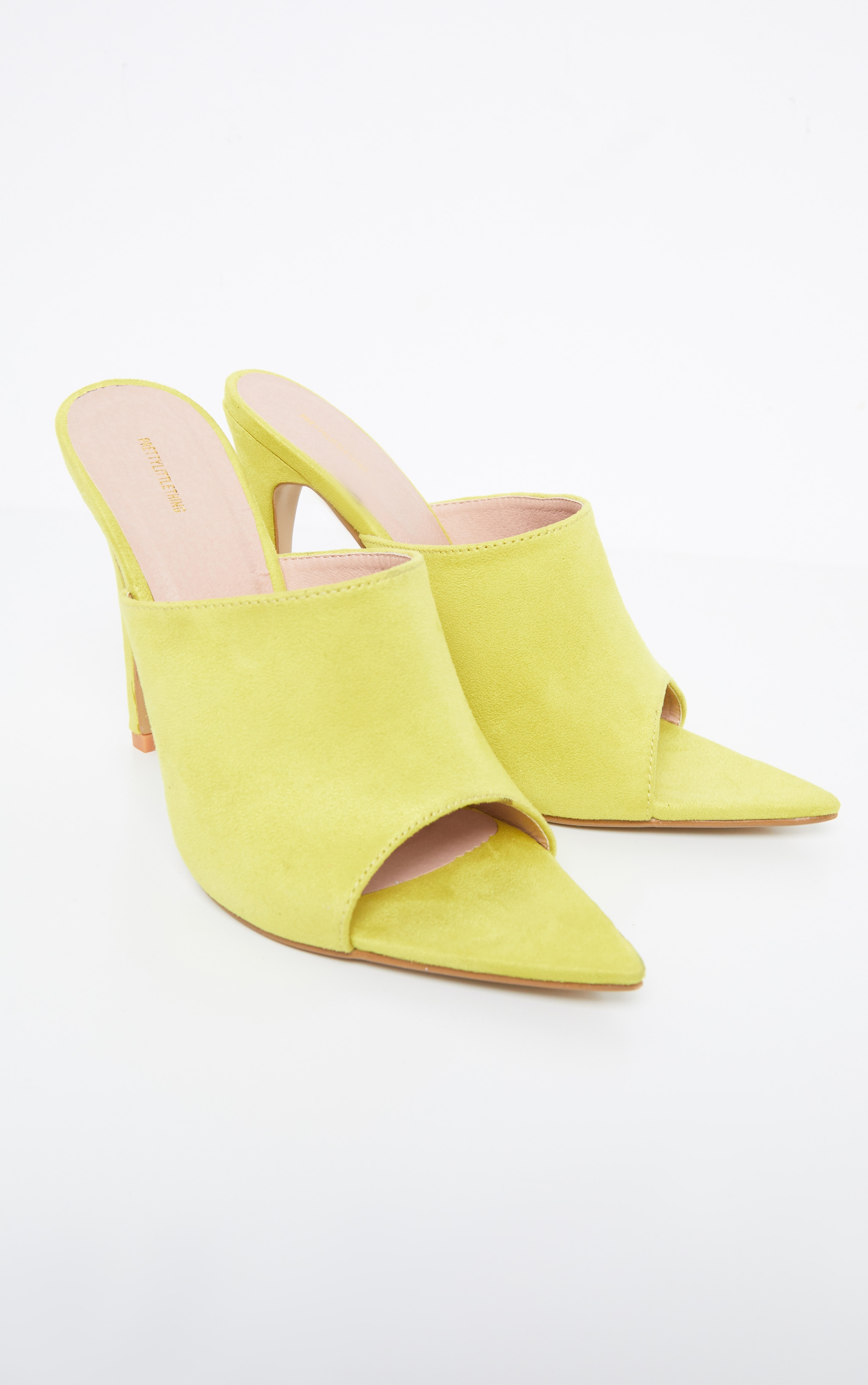 Lime Point Toe Mule 3