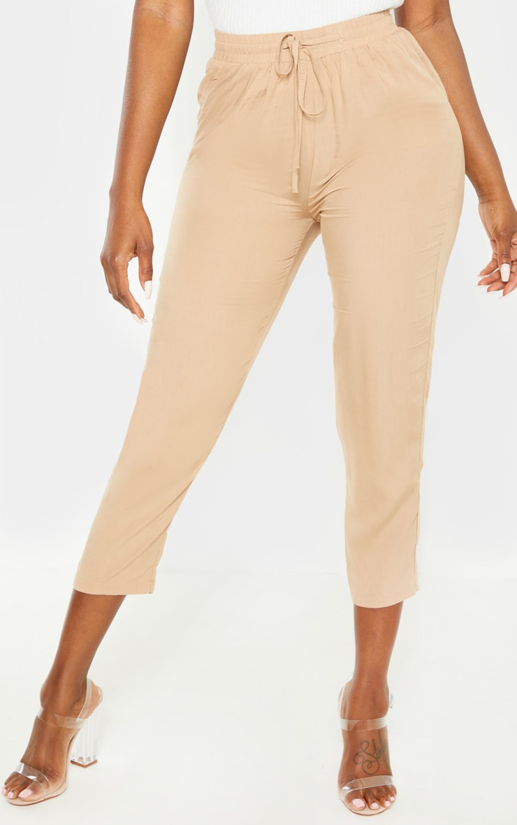 Petite Stone Casual Pocket  Trousers 2